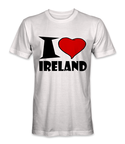 I love Ireland country t-shirt