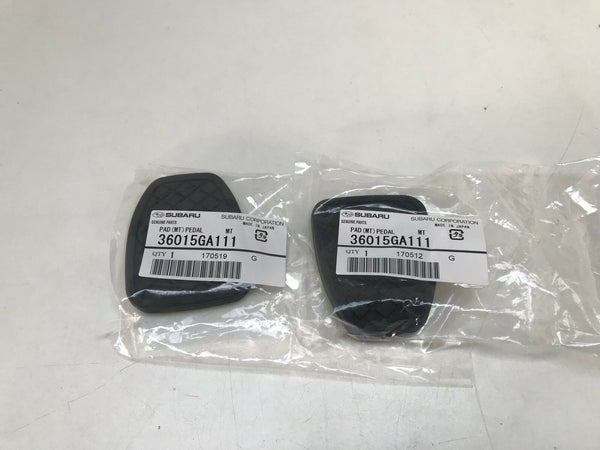 Subaru Clutch And Brake Pedal Rubbers