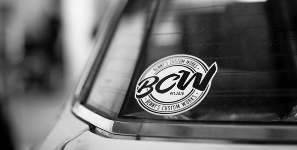 BCW LOGO STICKER