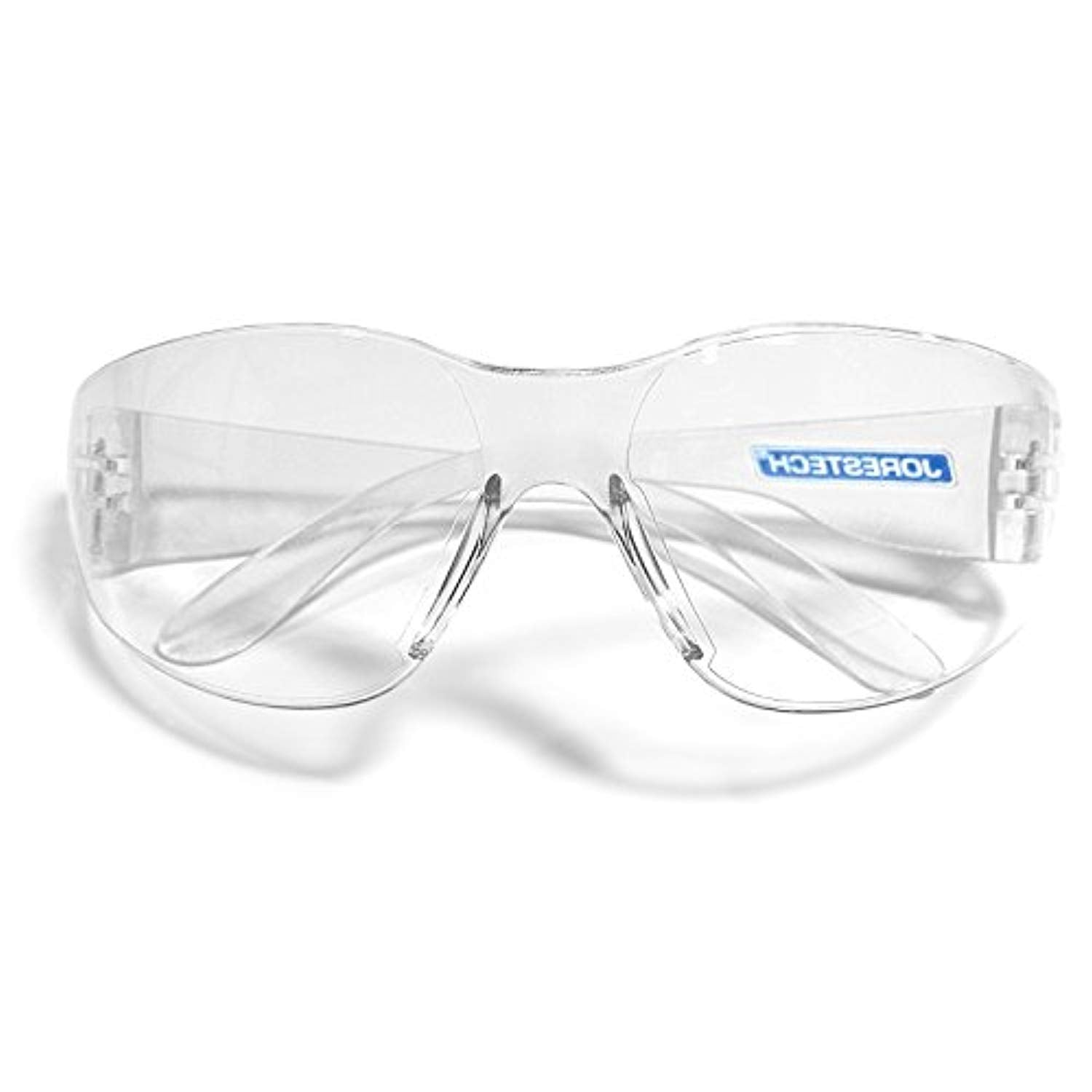 1af68fba03ca JORESTECH Eyewear Protective Safety Glasses, Polycarbonate Impact Resistant  Lens Pack of 12 (Clear)