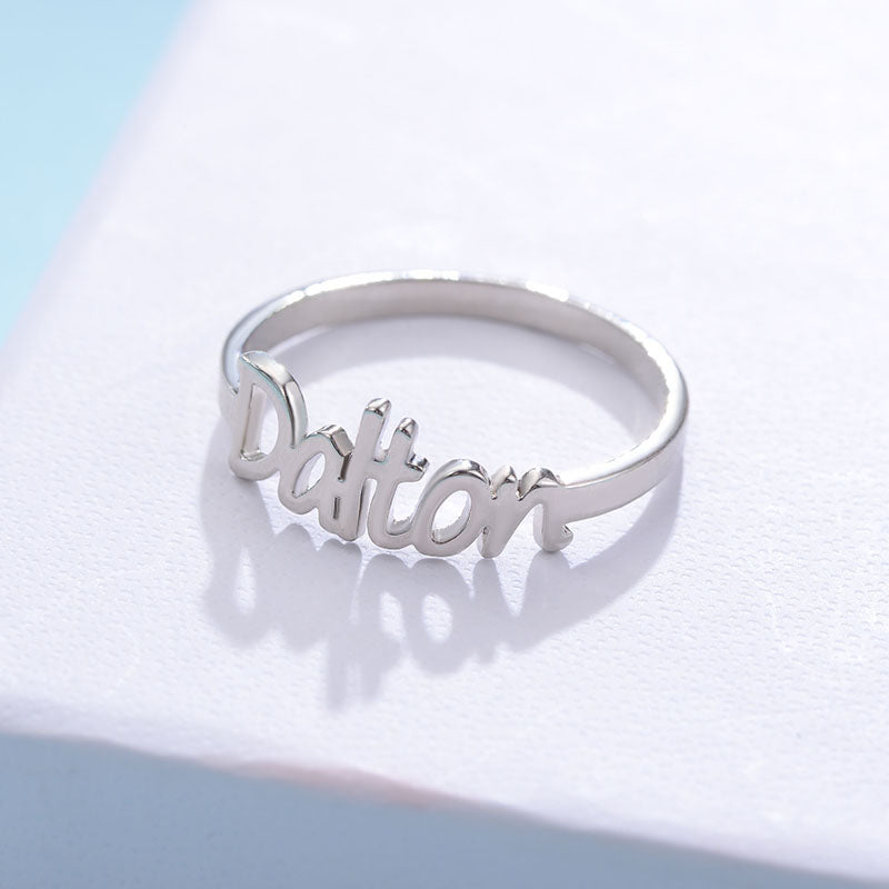 Custom rings & name engraved rings