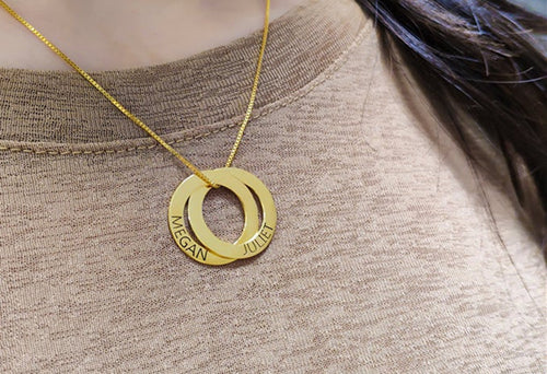 Ring Necklace & Circle Necklace