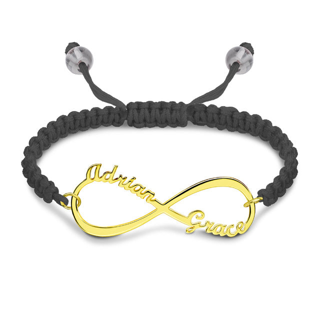 Adjustable Infinity Friendship Bracelet