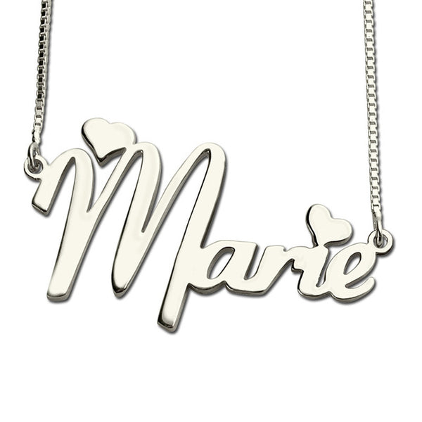 Cute name neklace in silver