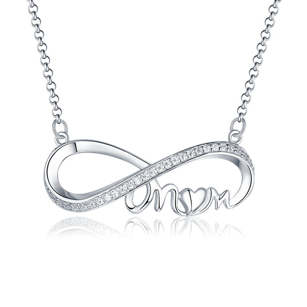 Personalized Infinity Necklace For Mom