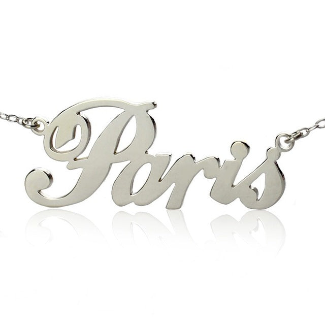 Personalized Necklace with City Name