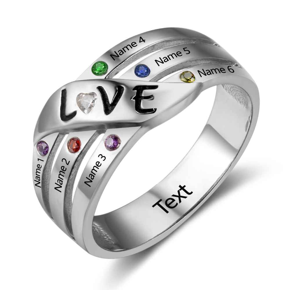 Love Ring with Children's Names