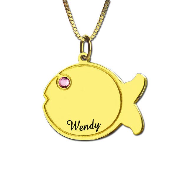 Fish Necklace Pendant