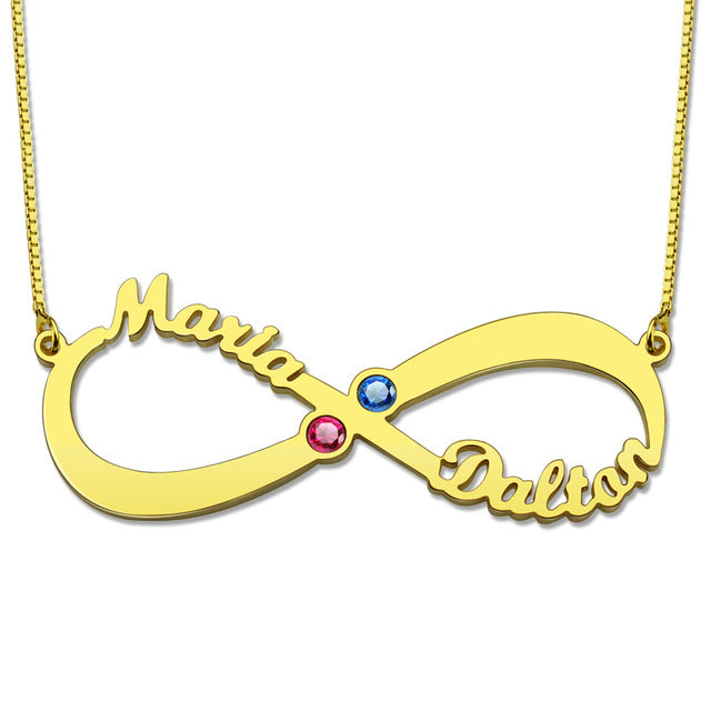 Friendship Infinity necklace