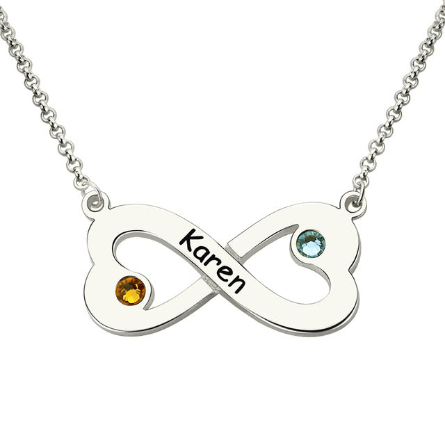 Tiny Infinity Love Necklace
