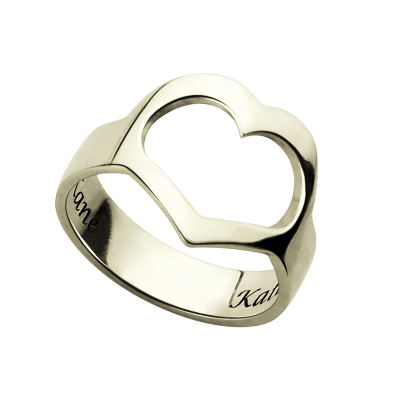 Personalized Love Ring with Engraving