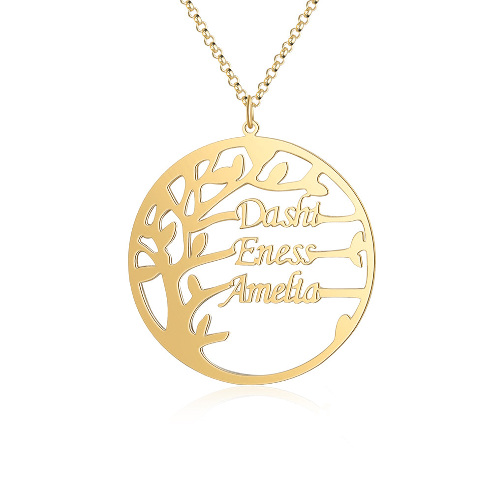 Customized Family Tree Necklace
