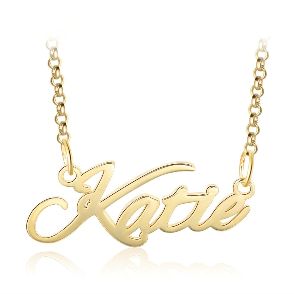 Cursive Dainty Name Necklace