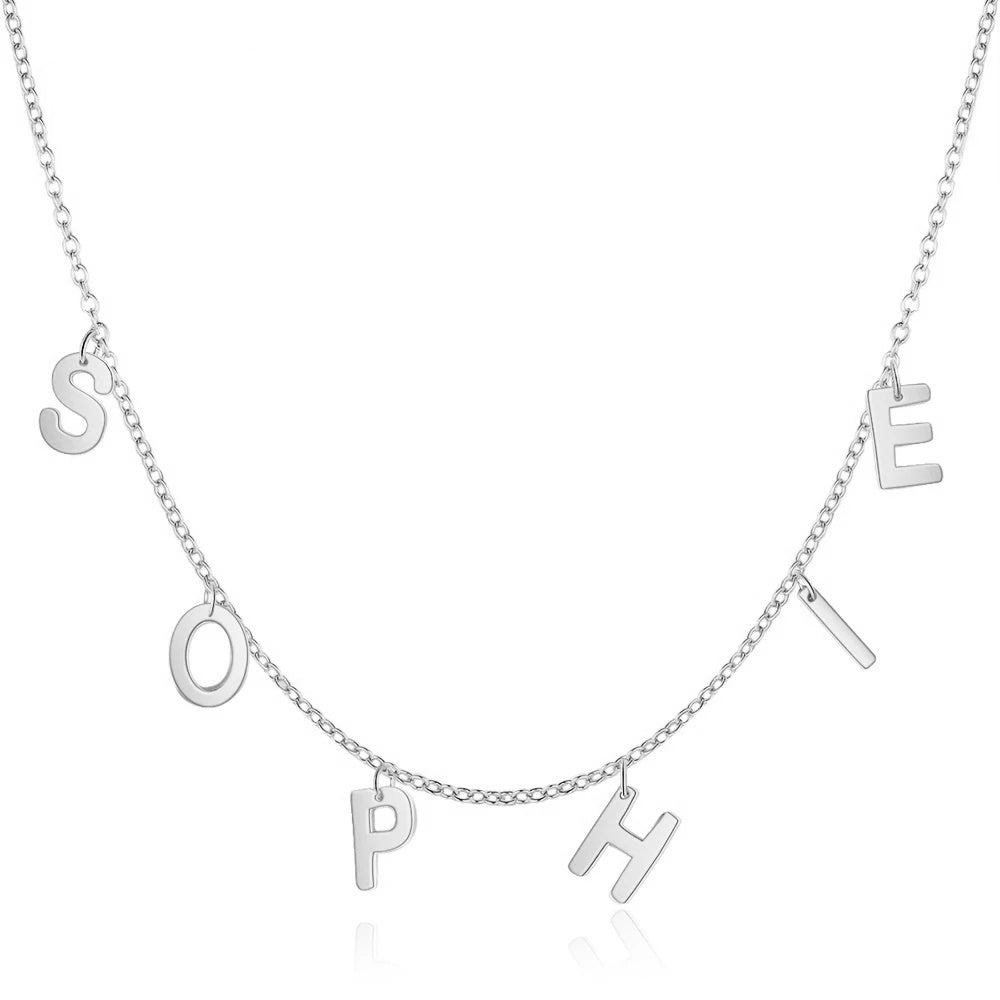 Dainty Custom Letter Necklace