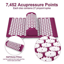 Load image into Gallery viewer, ACUCURE™ Pain Relief Mat + Pillow Set