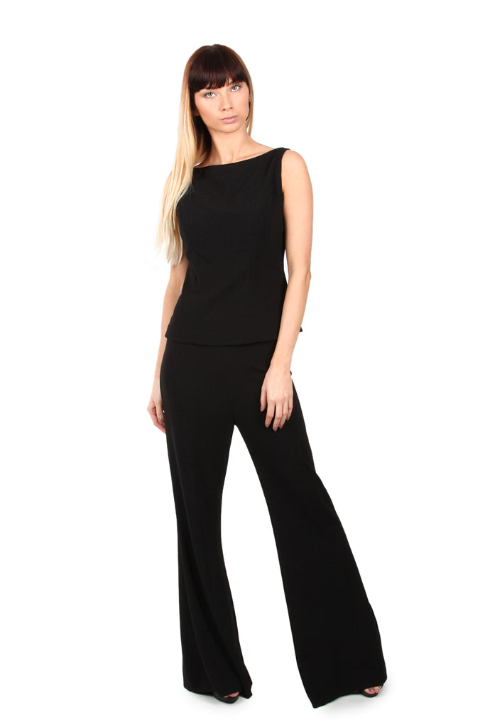 Flared wide leg Trousers