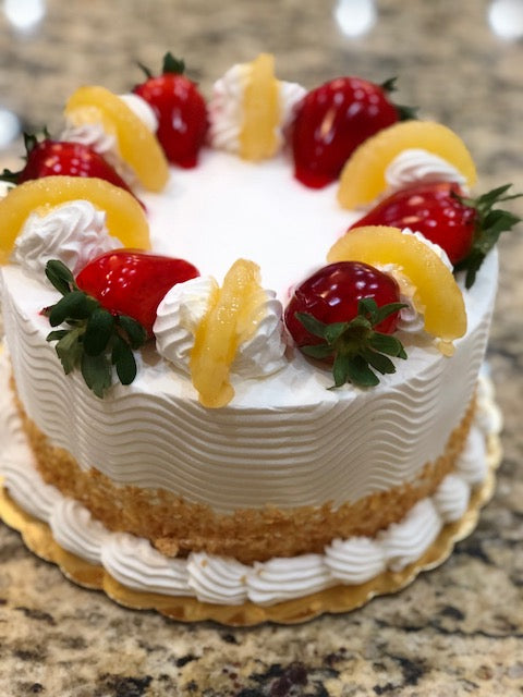 Strawberry Pineapple Cake