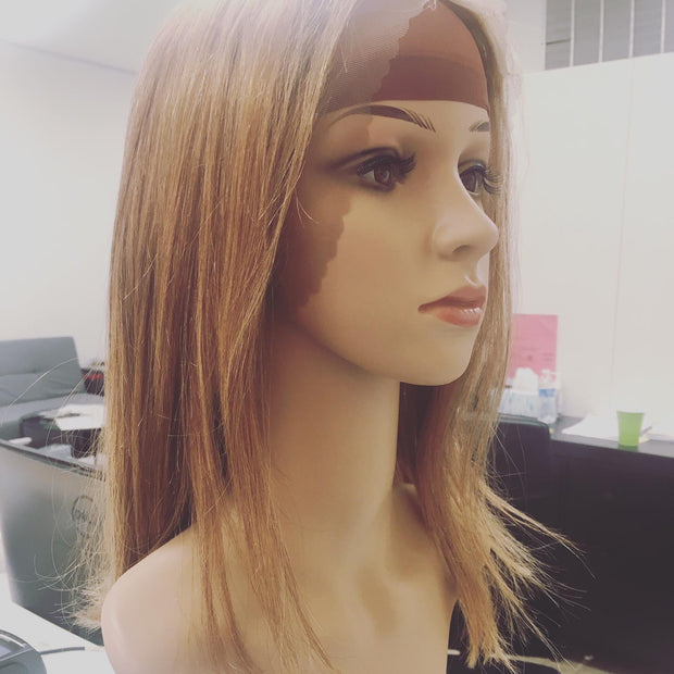 Blonde Japanese Straight Bob