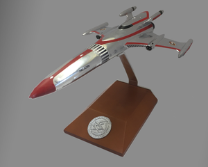 Official Space Command Collectors 3D Printed Model w/ Stand