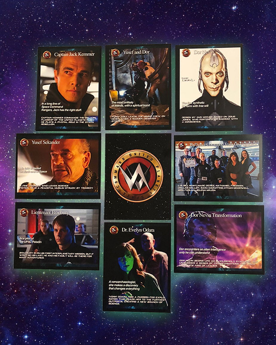 Space Command Trading Cards