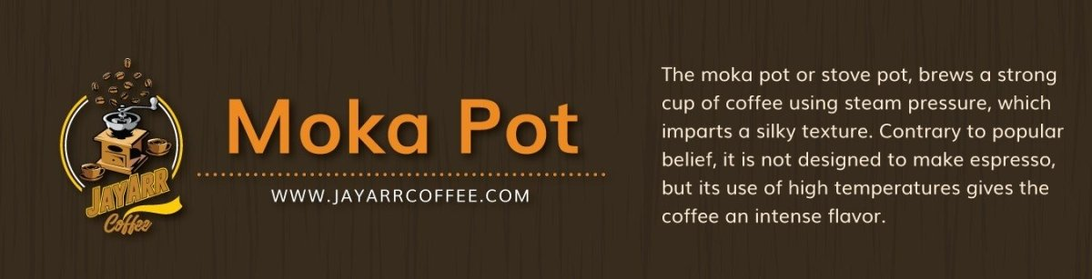 What is a Moka Pot? And How Do You Make Coffee With It? | JayArr Coffee
