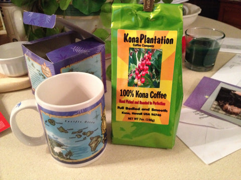 Kona Coffee gift