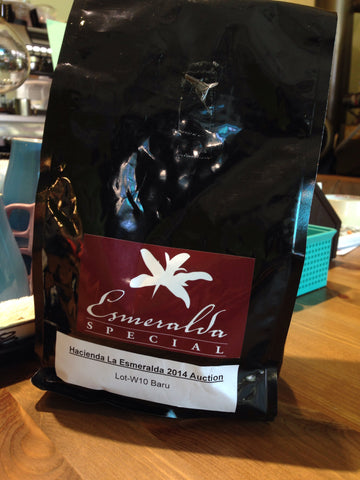 Hacienda La Esmeralda Coffee