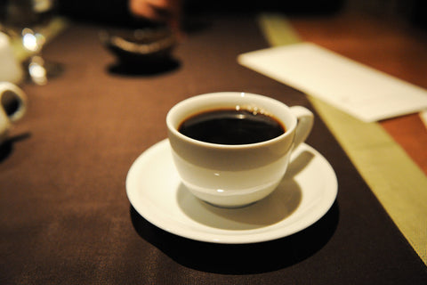 Cup of St. Helena coffee