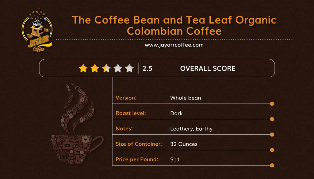 Coffee Bean and Tea Leaf Review