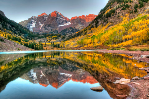 Maroon Bells Lake Guide Jayarr Coffee