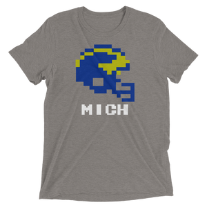 Michigan Tecmo Bowl Shirt - JayArr Threads