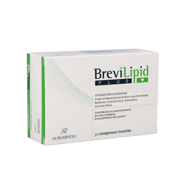 Brevilipid Plus 30 Compresse Rivestite - Lattebebeonline.com