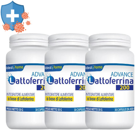 Lattoferrina Pura 200mg Advance 3x30 Capsule - Lattebebeonline.com