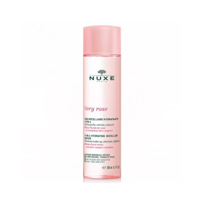 Nuxe Very Rose Acqua Micellare 3 in 1 Pelli Secche 200Ml - Lattebebe online