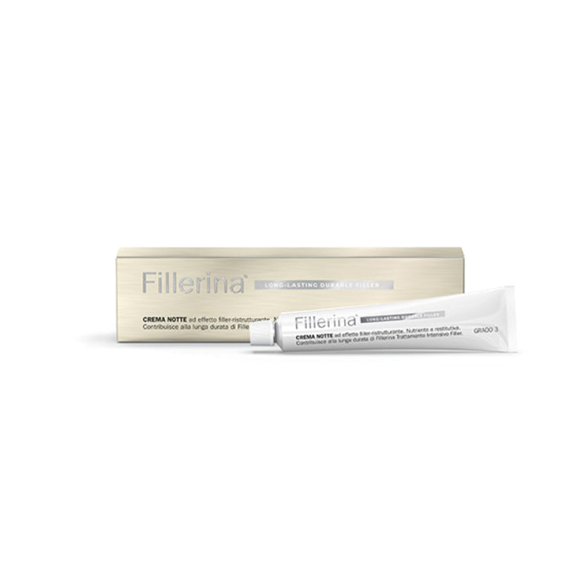 Fillerina Long Lasting Durable Filler Base Night Cream Grado 5 Tubo 50 Ml - Lattebebe online