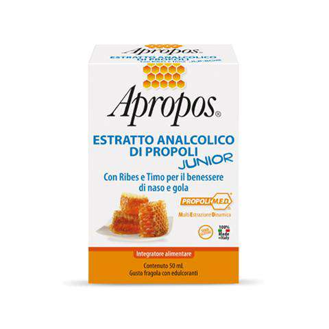 Apropos Junior Estratto Analcolico Di Propoli 50Ml - Lattebebe online