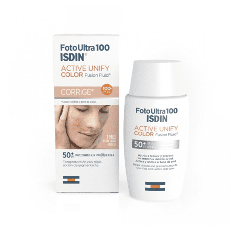 Isdin FotoUltra100 Active Unify Color Fusion Fluid Spf50+ Spf Reale 100+ 50Ml - Lattebebe online