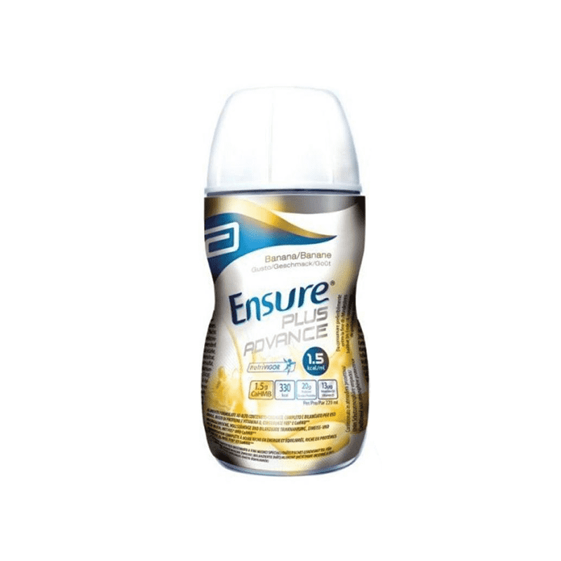 Ensure Plus Advance Banana 220 Ml - Lattebebeonline.com