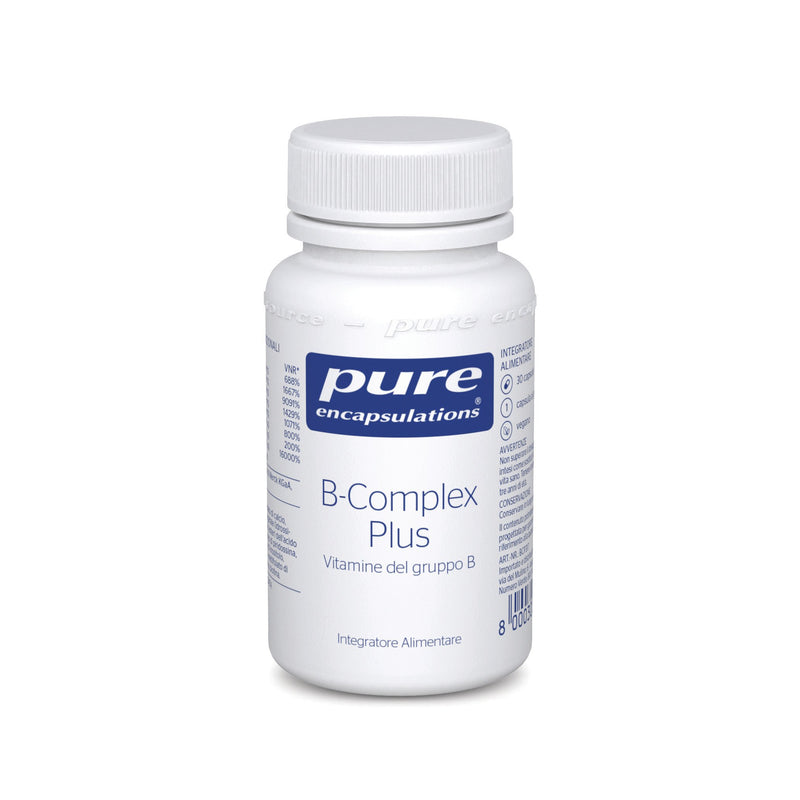 Pure Encapsulations B-Complex Plus 30 Capsule - Lattebebe online