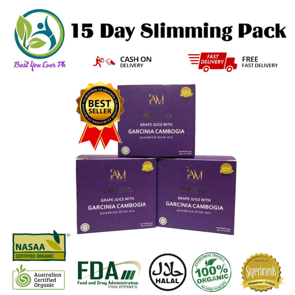3 Boxes Garcinia Cambogia Slimming Juice Best You Ever Ph