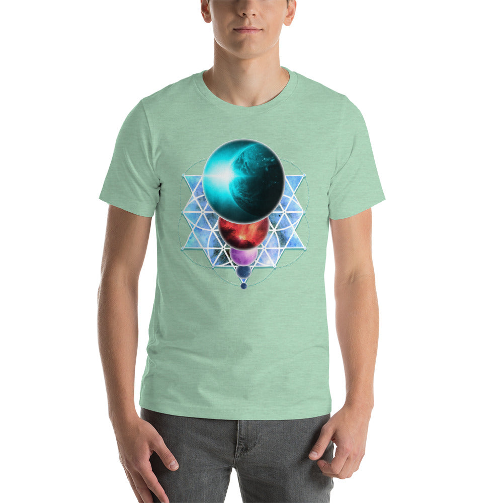 Planetary Alignment - Short-Sleeve Unisex T-Shirt