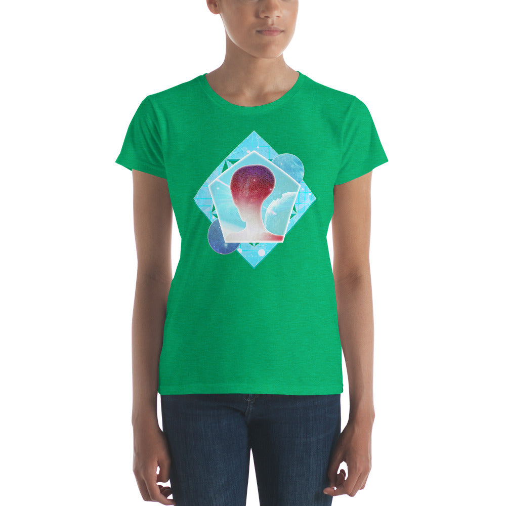 Cosmic Frontier - Women's short sleeve t-shirt