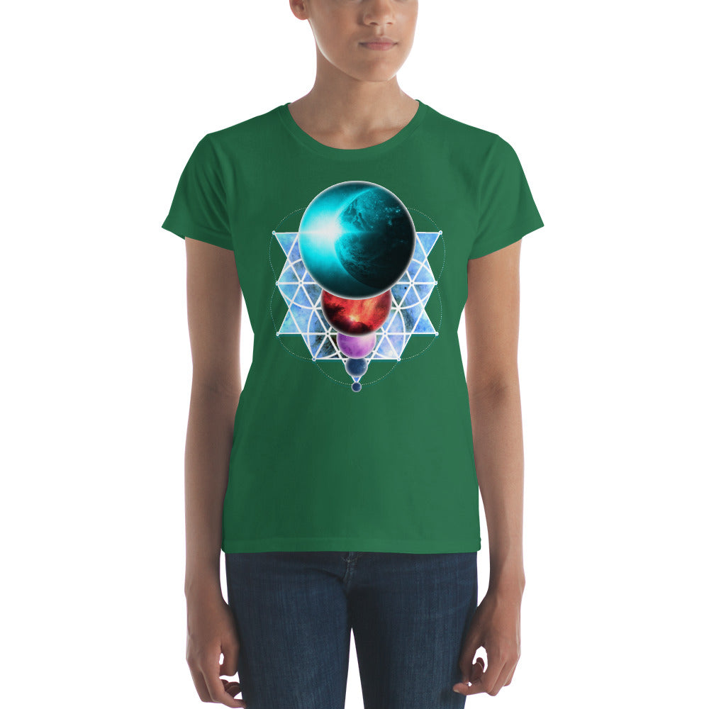 Planetary Alignment - Women's short sleeve t-shirt