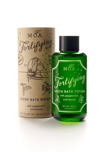 Fortifying Green Bath Potion / Poção Verde Fortificante
