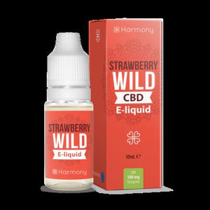 Harmony Strawberry Hemp 100mg CBD - Viweedy CBD Store