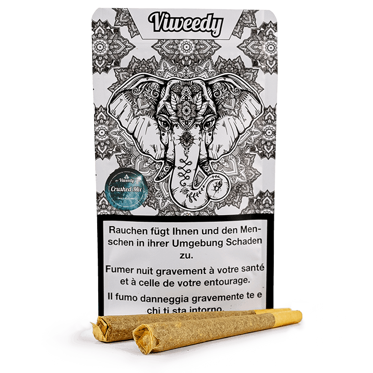 Viweedy - Crushed Mix Joints - Viweedy CBD Store