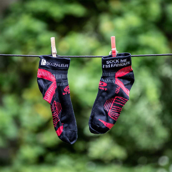 "Chaussettes Light One BV Sport ""Sock me I'm famous"""