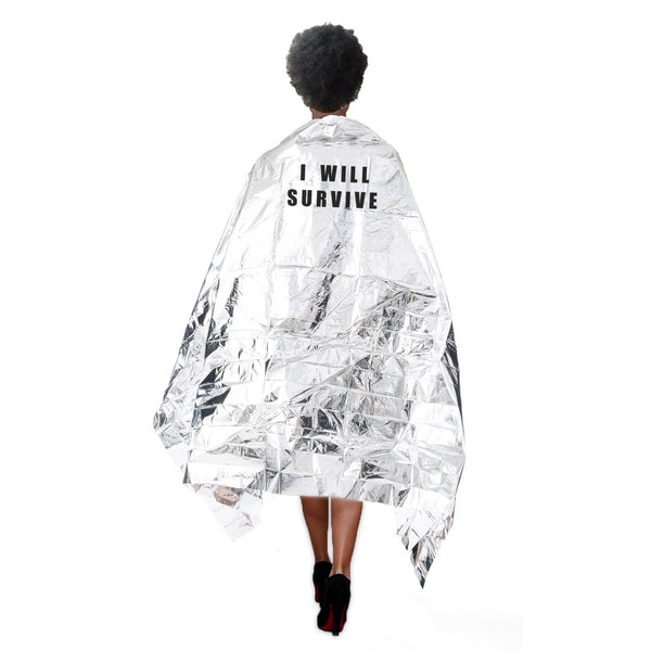 "Couverture de survie ""I will survive"""