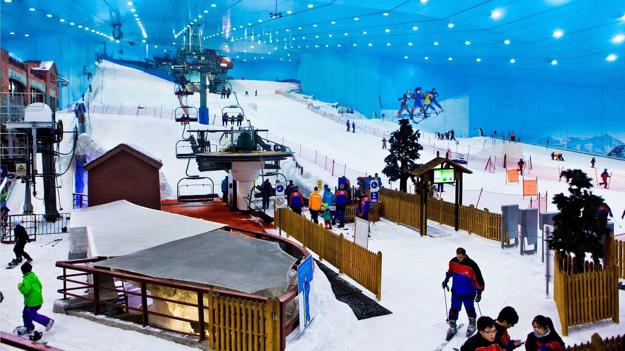 TOP 5 - Indoor Ski Centres in the World