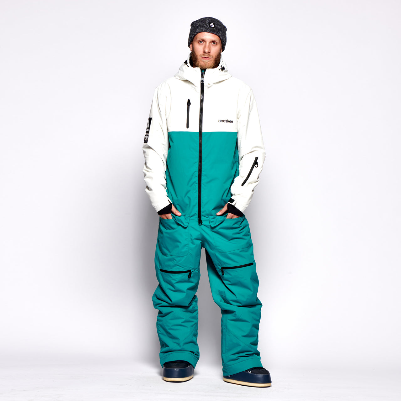 Mark V - Teal / White